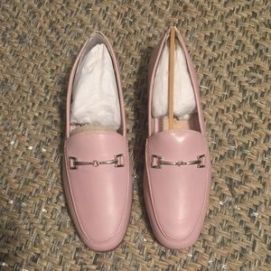 Sam Edelman Lorraine Leather Loafer, pink size 5.5